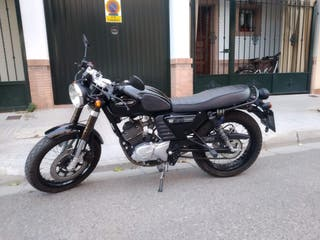 hanway raw 125 cafe racer 810kms