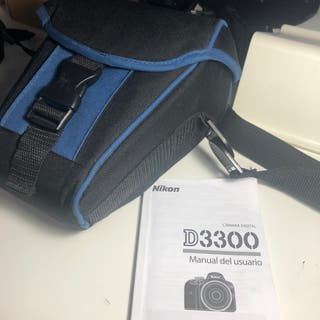 Cámara digital Nikon D3300