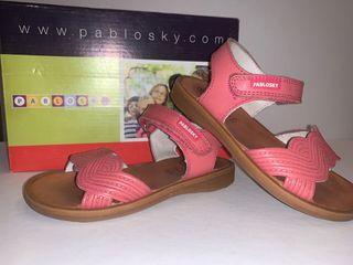 Sandalias niña PABLOSKY