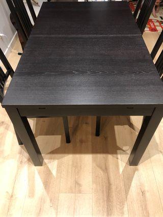 Mesa y sillas Bjursta Ikea