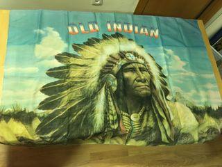 Bandera tela Old Indian - 135 x 95