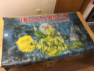 Bandera tela IRON MAIDEN Live After Death