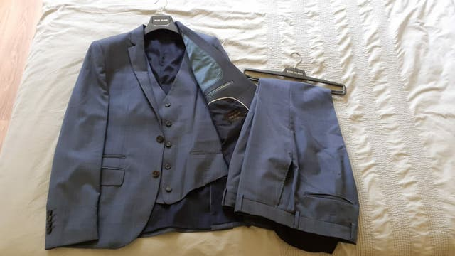 3 piece mens suit by River Island