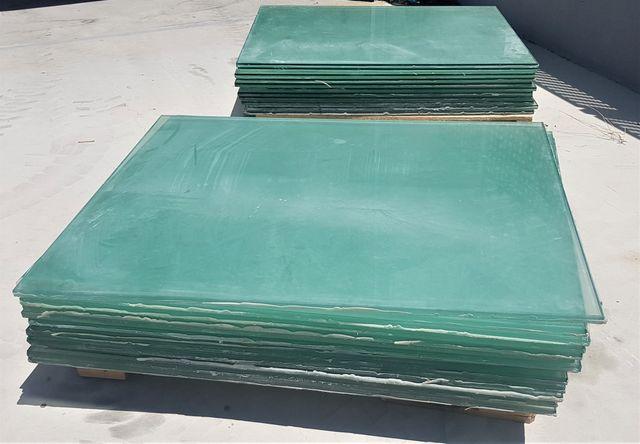 Planchas de cristal de 20mm ideal para lucernarios