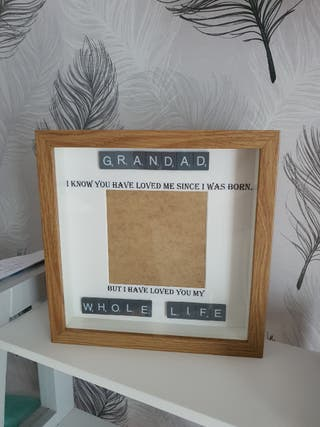 Grandad I know you have loved me