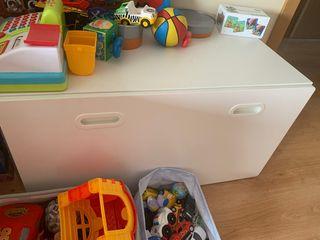 Baúl juguetes Blanco