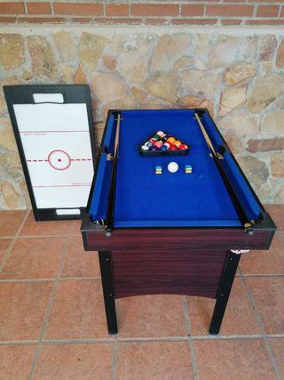 mesa de billar de pinpong y de hokey