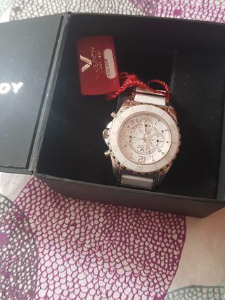 reloj viceroy blanco ceramico