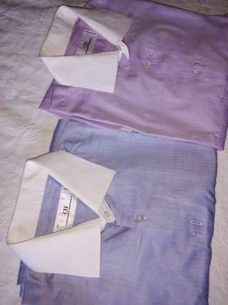 Pack 2 camisas Carolina Herrera Talla 4/5