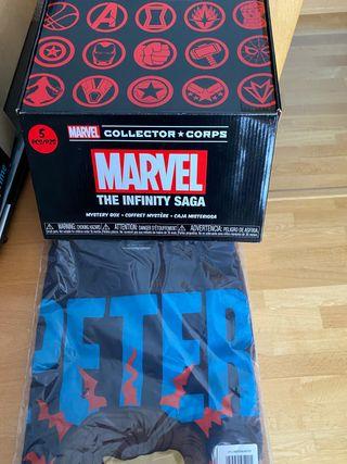 Caja + camiseta the collector corps