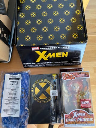 Caja marvel collector corps x-men