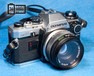 Olympus om10 + 50 1.8