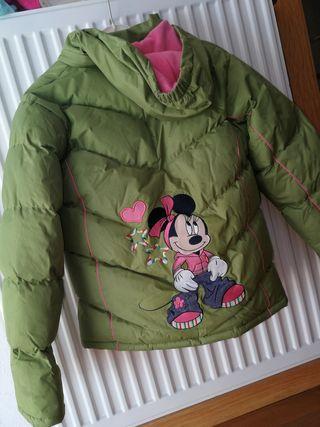 abrigo niña 10 años Minnie Mouse