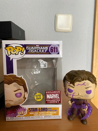 Funko star-lord with power stone #611