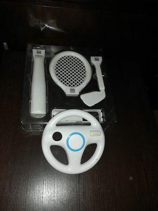 pack de accesorios para mando de wii
