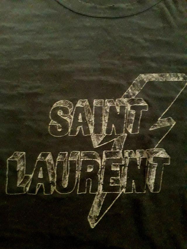 t-shirt Saint Laurent 100 % original devore