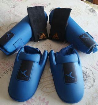Protección kickboxing.