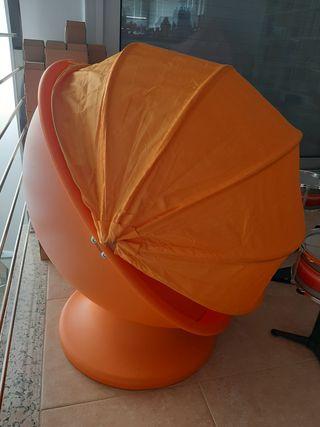 sillón giratorio infantil
