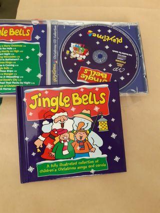 Pack CD y libro de canciones de navidad en Inglés