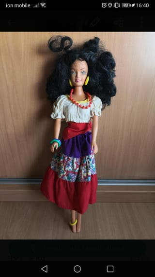 muñeca Barbie gitana