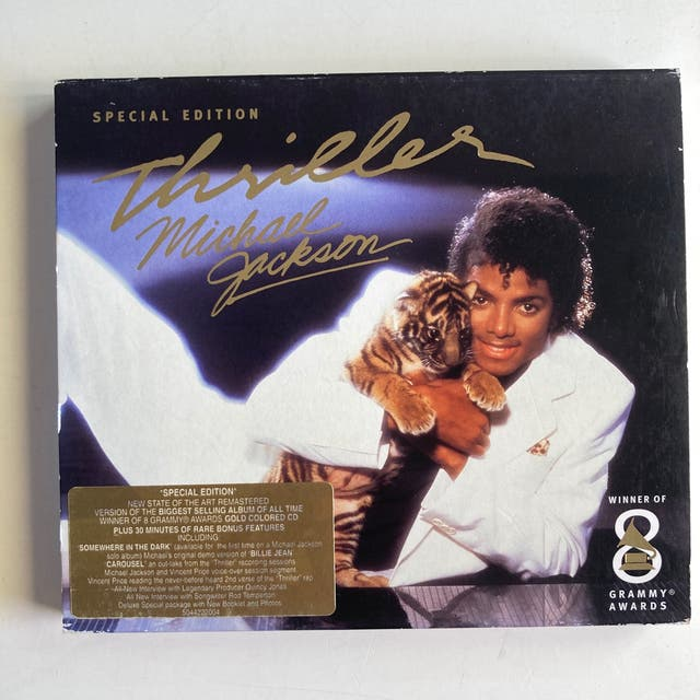 "CD Michael Jackson Thriller ""special edition"""