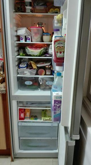 Nevera combi TEKA frigorífico y congelador