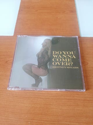 Britney Spears do you wanna come over? CD single