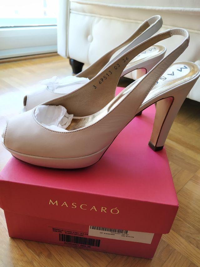 Zapatos novia Mascaró