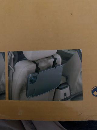 Bandeja plegable asiento coche