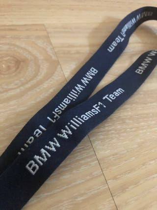 Llavero Original BMW Fórmula 1 Williams