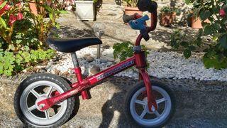 bici sin pedales marca chico roja