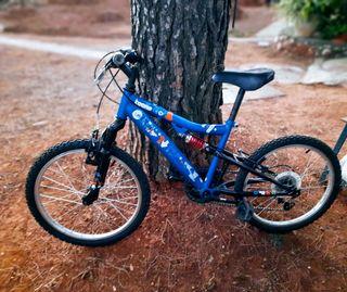 Bicicleta infantil con amortiguación 21 pulgadas