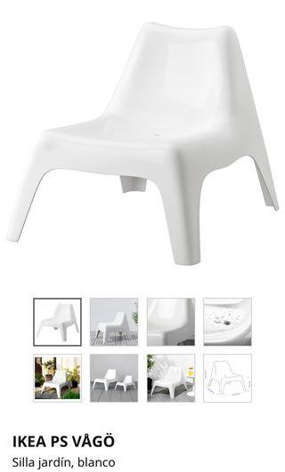 Silla/tumbona jardín IKEA