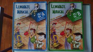 Libros de Lenguaje Musical