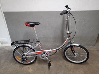 Bici plegable aluminio boomerang nueva