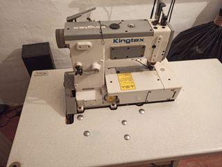 Maquina de coser recubridora marca Kingsten