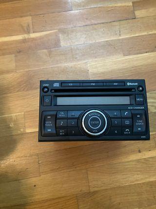 Radio Nissan qashqai año 2008