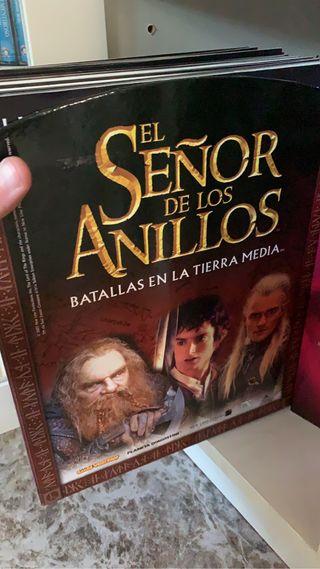 Colección Miniaturas el señor de los anillos