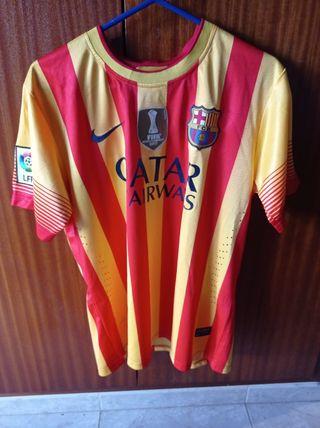 Camiseta FCB de la senyera