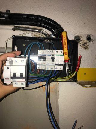 Trabajos de electricista