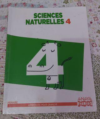 libro de naturales 4 primaria