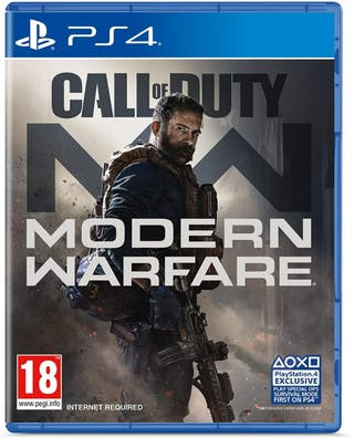 Modern Warfare Digital Download PS4