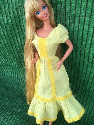 Vestido barbie vintage congost años 70-80