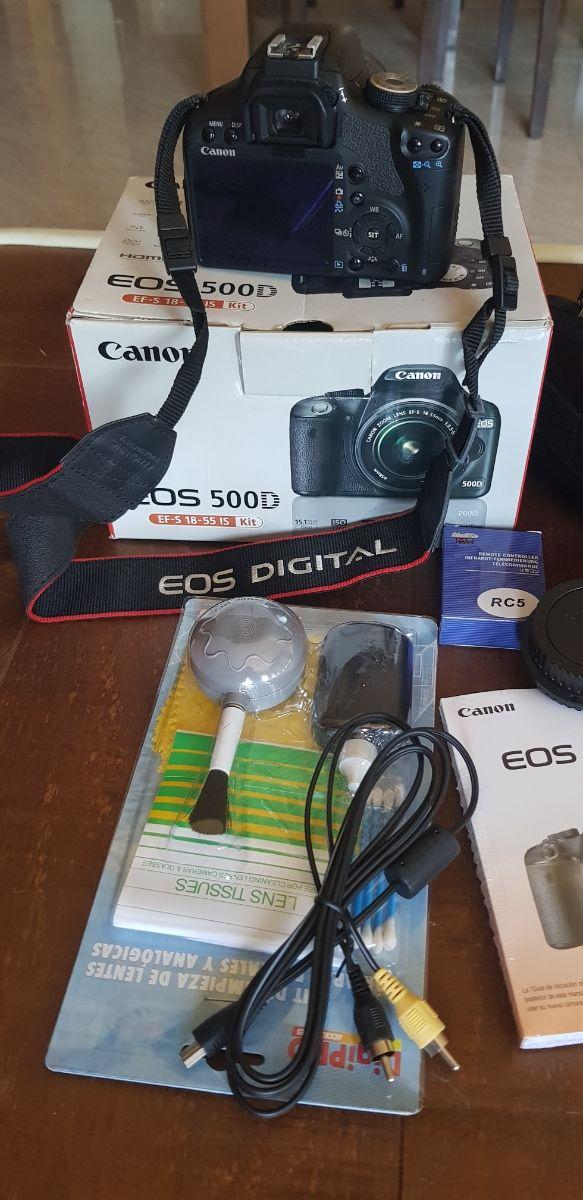 Cámara Canon EOS 500D