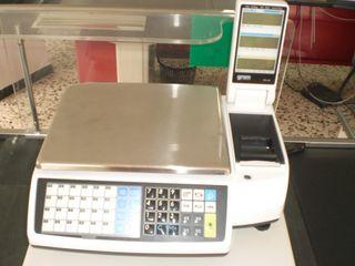 Balanza De Sobremesa M5-30P con caja registradora