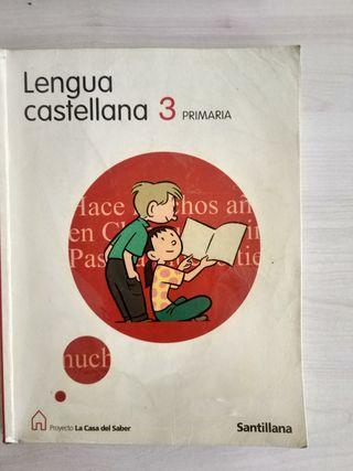 libro lengua 3 primaria Santillana