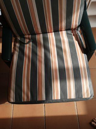 Colchoneta para sillas.