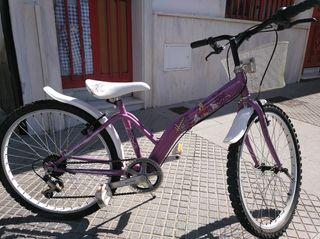 bicicleta 24 pulgadas niña