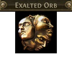 30 Exalted Orb Path of Exile Currency PoE standard
