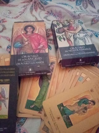 cartas oráculo de los Ángeles. o4aculo nostrodamus